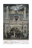 Postcard of Luna Park at Coney Island