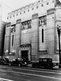Facade of the Los Angeles Stock Exchange