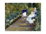 Children in a Garden (The Nurse)