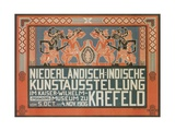 Dutch East Indies Art Exhibition  Germany