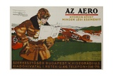 Az Aero Hungarian Aviation Magazine Poster
