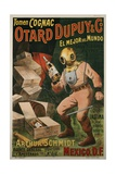 Cognac Otard Dupuy and Co Poster