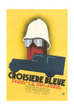 French Poster for Blue Crossing