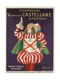 Champagne Castellane French Advertising Poster Giclée