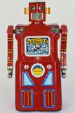 A Masudaya 'Machine Man' Robot  the Rarest Member of the 'Gang of Five' Robot Series