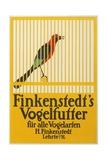 Finkenstedt's Birdseed Poster