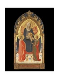 Altarpiece with the Madonna and Child with Two Angels