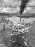 The White Horse Steamer in the Five Finger Rapids