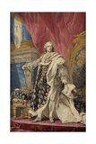 Tapestry of King Louis XV