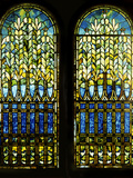 Tiffany Studios Leaded and Plated Glass Windows
