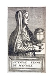 Portrait of Artemisia  Queen of Cara