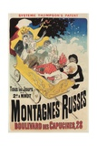 French Roller Coaster Poster