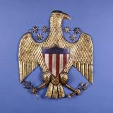 A Gilded Pressed Tin Eagle