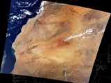 Canary Islands and the Sahara Desert of Africa
