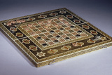 A Mosaic Work (Khatamkar) Backgammon and Draughts Set