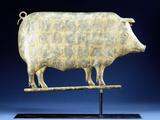 19th Century Pig Weathervane
