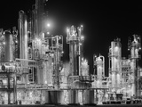 Hydro-Carbon Refinery at Night