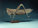 A Grasshopper Weathervane