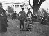 Children Holding Hands at White House Easter Egg Roll