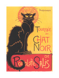 French Poster for Chat Noir Cabaret Giclée