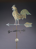 Fine Feathered Rooster and Arrow Weathervane