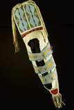Crow Beaded Hide Cradleboard
