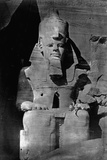 Statue of Ramses II at the Temple of Ramses II