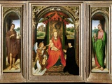 Small Triptych of St John the Baptist