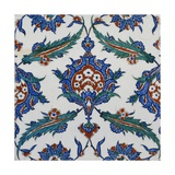 An Iznik Pottery Tile  Circa 1580
