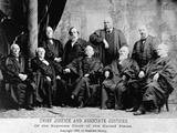 Portrait of the 1890 Supreme Court
