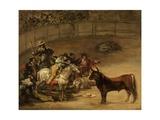Bullfight  Suerte De Varas
