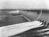Assuan Dam on the Nile River