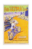 Moto 'Ultima' Lyon Poster