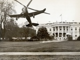 Autogiro Takes Off at White House