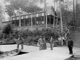 Boaters at Lake Lodge