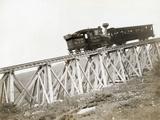 Train Ascending Mount Washington