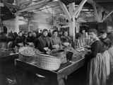 Women Canning Oysters