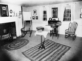 Parlor of the Edgar Allen Poe Cottage  NYC  Dec 17  1918