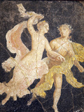 Italy  Naples  Naples Museum  Stabiae  Villa of Arianna  Atrium  Couple in Flight