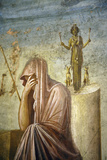 Italy  Naples Museum  from Pompeii  House of the Tragic Poet  (VI  8  5)  Iphigenia's Sacrifice