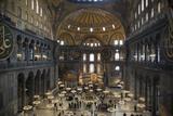 Turkey  Istanbul  Hagia Sophia  Interior