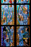 Prague  St Vitus Cathedral  Chapel of St Agnes of Bohemia  Stained Glass Window