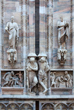 Italy  Milan  Milan Cathedral  Statues and Reliefs