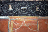 Italy  Naples National Archeological Museum  from Pompeii  Isis Temple  Portico  Decoration