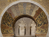 Spain  Andalusia  Cordoba  Cathedral–Mosque of Cordoba  Original Mosque  Relieving Arch