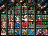 Prague  St Vitus Cathedral  Southern Transept Arm  The Last Judgment