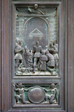 Italy  Siena  Siena Cathedral  Bronze Door Relief