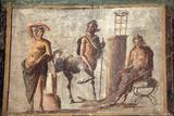 Italy  Naples  Naples Museum  Casa d'Adonide or della Regina Carolina  Pompeii  Chiron and Apollo