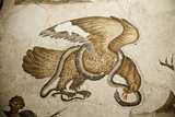Turkey  Istanbul  Great Palace Mosaic Museum  Roman Mosaic  Daily Life  Eagle and Snake