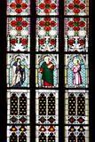Prague  St Vitus Cathedral  Stained Glass Window  St Gisela  St Paul  St Rudolph